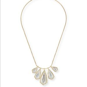 Kendra Scott rhyan Mother-of-pearl Long Necklace